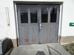 Tür Garage Haus breit 2 50 m x höhe 2 34 m 2 stahl garagentor flügel garage haus tor