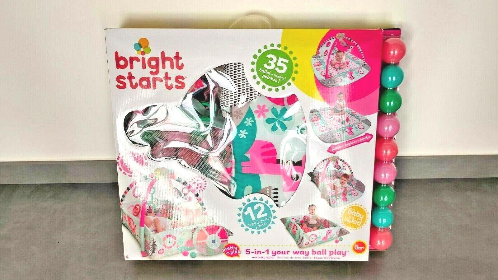 BRIGHT STARTS gimnasio de actividades 5 en 1 bebe