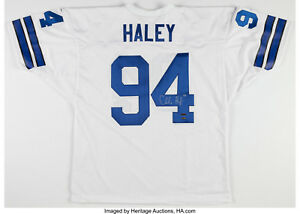 new products 6c846 abf37 Details about CHARLES HALEY SIGNED DALLAS COWBOYS MESH JERSEY w/COA & HALEY  HOLOGRAM 49ers HOF