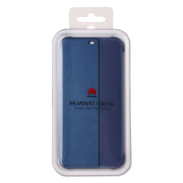Funda Huawei P20 lite original SMART VIEW FLIP COVER  P20 lite azul