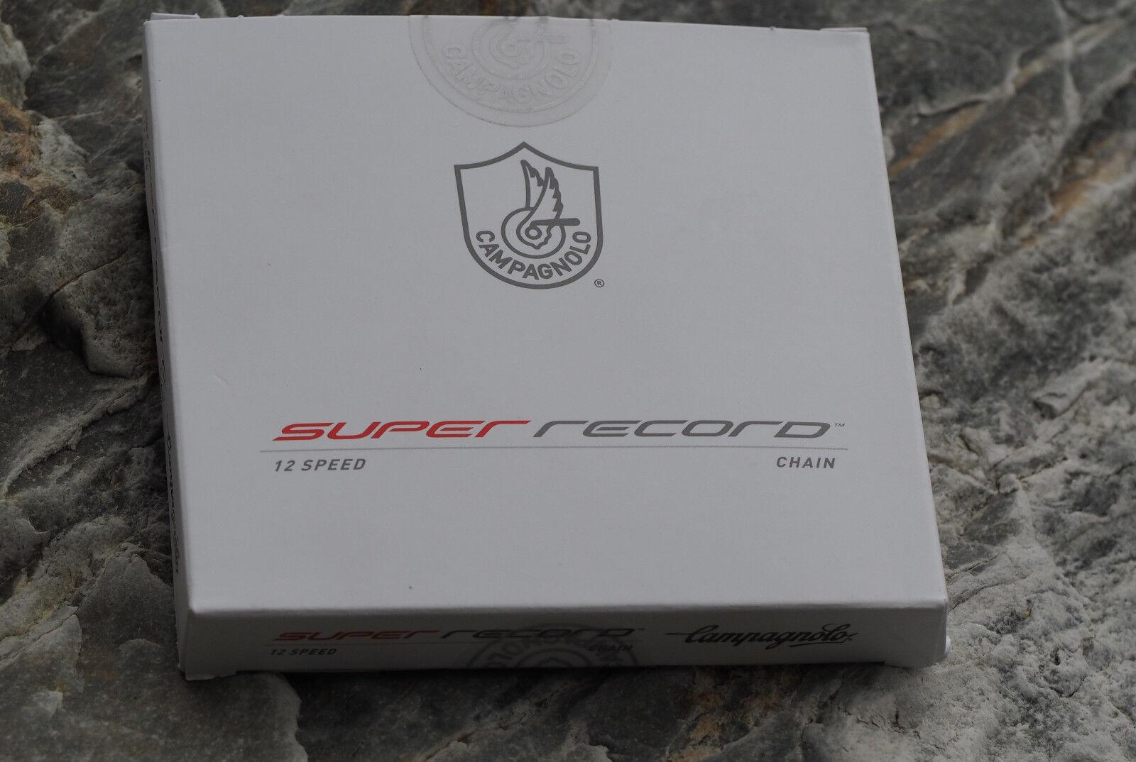 Campagnolo Super Record 12 fach Kette , 12 Speed Chain , Rennrad