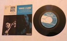 "EP, Sacha Distel w/Claude Bolling, ""Hommage a Django"" Philips 424.296 PS NM"