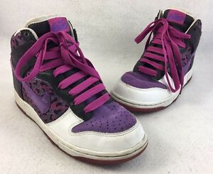 Nike Dunk High 6.0 09' Women's Sneakers Shoes Purple Sz 8 342257-551