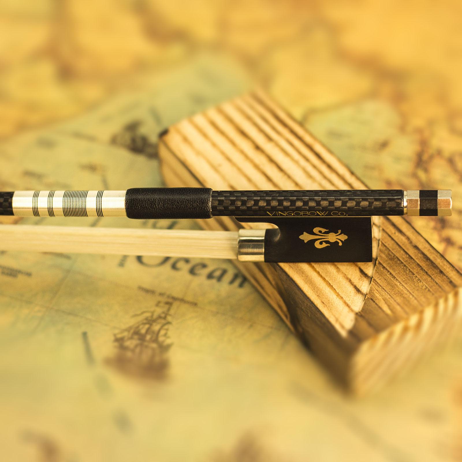 Arco per violino in fibra di carbonio intrecciato per giocatori professionisti