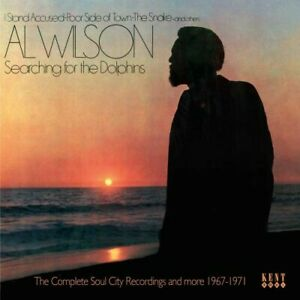 AL-WILSON-Searching-For-The-Dolphins-Soul-City-Rec-NEW-amp-SEALED-SOUL-CD-KENT