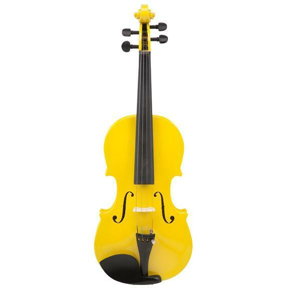Le'Var 4 4 Student Violin Outfit, Mellow Yellow