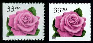 #3052 & 3052E 33c Coral Rosa ,Nuevo Cualquier 5=