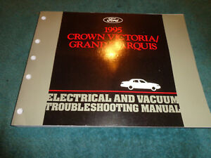 Details about 1995 FORD CROWN VICTORIA MERCURY GRAND MARQUIS WIRING on
