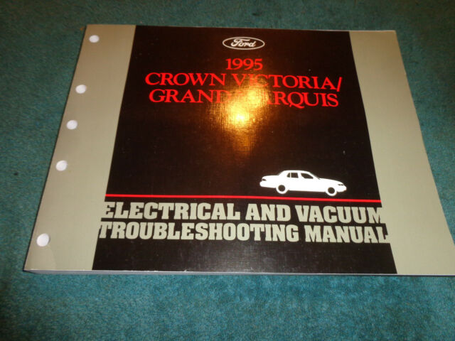 1995 Ford Crown Victoria Mercury Grand Marquis Wiring