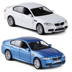 1:36 BMW M5 modello auto in lega Diecast regalo Veicolo Giocattolo Bambini Pull Back Collection
