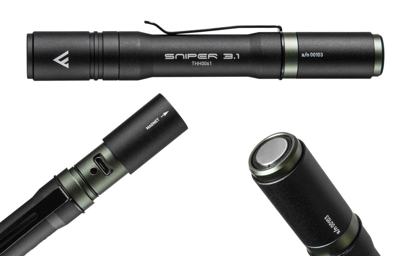 Mactronic Akku LED Taschenlampe 130 Lumen Sniper 3.1 3.1 3.1  | Primäre Qualität  53e195