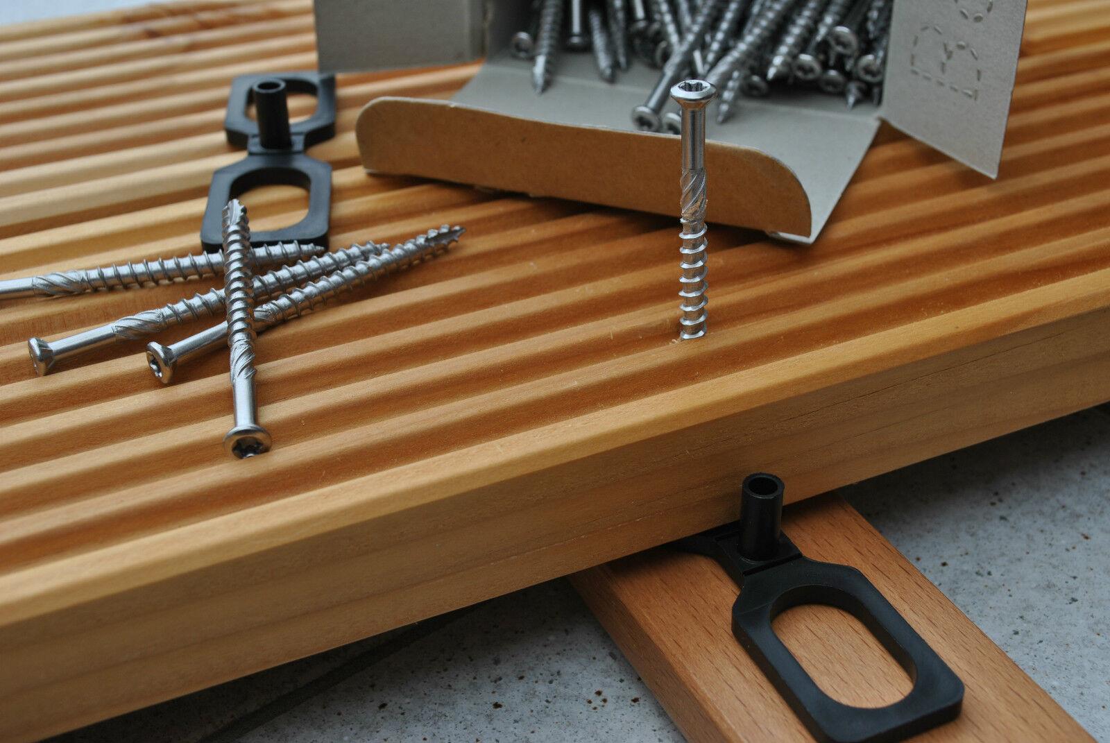 Terrassenschrauben Edelstahl A2 und C1 C1 C1 5x40 5x50 5x60 5x70 5x80 Terrassenbau | Moderner Modus  5e897f
