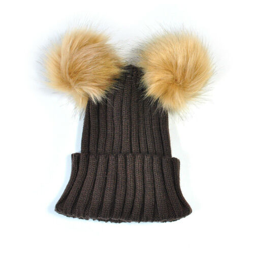 SA Toddler Kids Girl/&Boy Baby Infant Winter Warm Crochet Knit Hat Beanie Cap