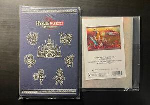 My Nintendo Rewards Hyrule Age of Calamity Memo Pad and Acrylic Panel Art Rare