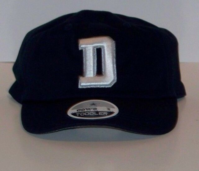 3d57ca3b17875 TODDLER Dallas Cowboys Big D Navy Stretch Fit hat cap 402037097280 ...