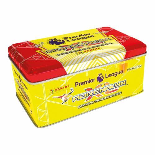 incl 74 cartes Panini Premier League 2019-20 ADRENALYN XL Mega Classique Étain