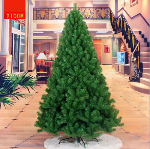 3//4//5//6//7//10//13 ft PVC Artificial Christmas Tree Stand Holiday Party Holiday Dec