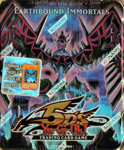 2009 Yugioh TCG Trading Card Game Earthbound Immortals
