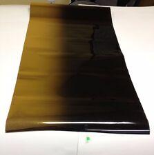 "SOLAR NON REFLECTIVE MIRROR GOLD BLACK TOP WINDOW FILM TINT 20"" X 10 FEET  F-17"