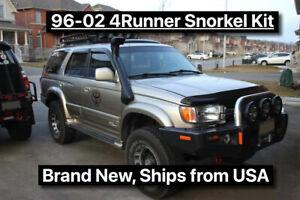 1996-2002 3rd 4RUNNER 1995-2004 1st Gen Toyota Tacoma Off-Road Snorkel Kit USA
