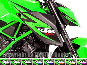 2x-BEAST-Aufkleber-Sticker-Motorrad-Kawasaki-ZX10R-ZX6R-Z750-Z800-Z1000-Ninja