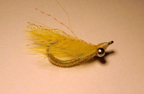 Crazy Charlie  Yellow #6  Bonefish Permit