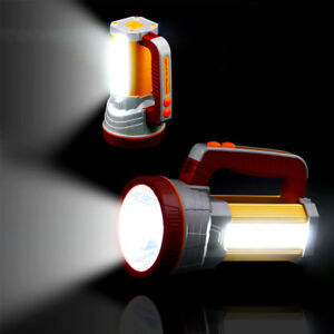 3000LM-Super-Bright-LED-Searchlight-Spotlight-Rechargeable-Flashlight-USB-Torch