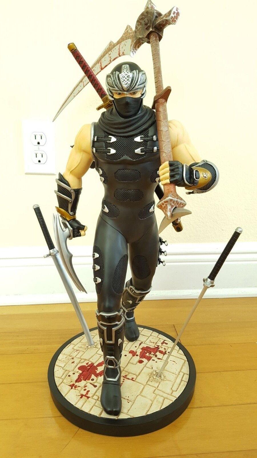 Ninja Gaiden Ryu Hayabusa 1 4 Scale Statue Mib For Sale Online