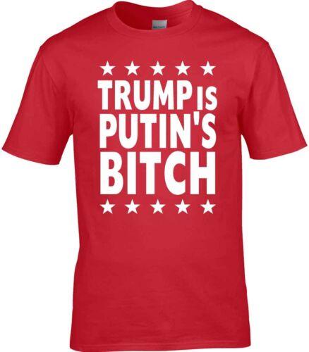 Political T-Shirt Trump Putin Funny USA America Russia Satire President USSR