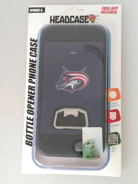 Headcase Phone Case Bottle Opener NHL Columbus Blue Jackets iPhone 6