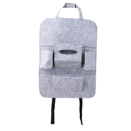 Auto Car Seat Back Multi-Pocket Storage Holder Bag Organizer Accessory Travel DB