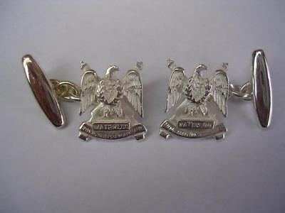 The Queen/'s Dragoon Guards Cufflinks /& Box