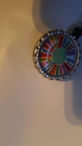 Wheel of fortune work Retractable Reel ID Badge Holder nurse Dr secretary cna