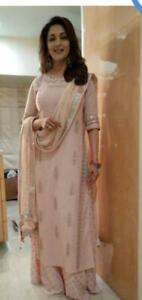 Indian-kurta-dress-With-dupatta-pant-Flared-Top-Tunic-Set-blouse-Eid-special