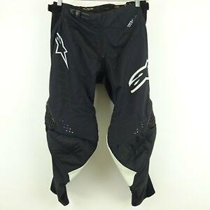 Kim Kardashian West Alpinestars Negra Tech Motocross Pantalones Talla 34 Ebay