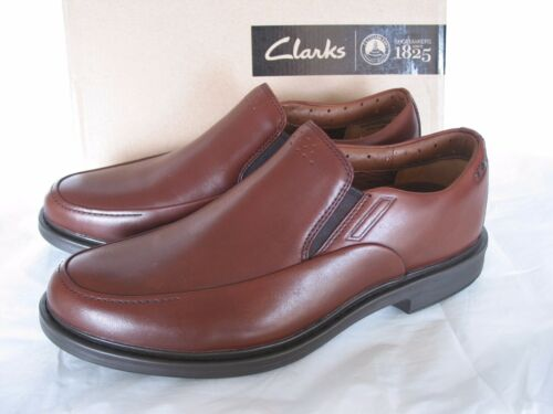 7 Brown scarpe Air Leather New Easy Clarks Drexlar Vent Active Size 8HYAv