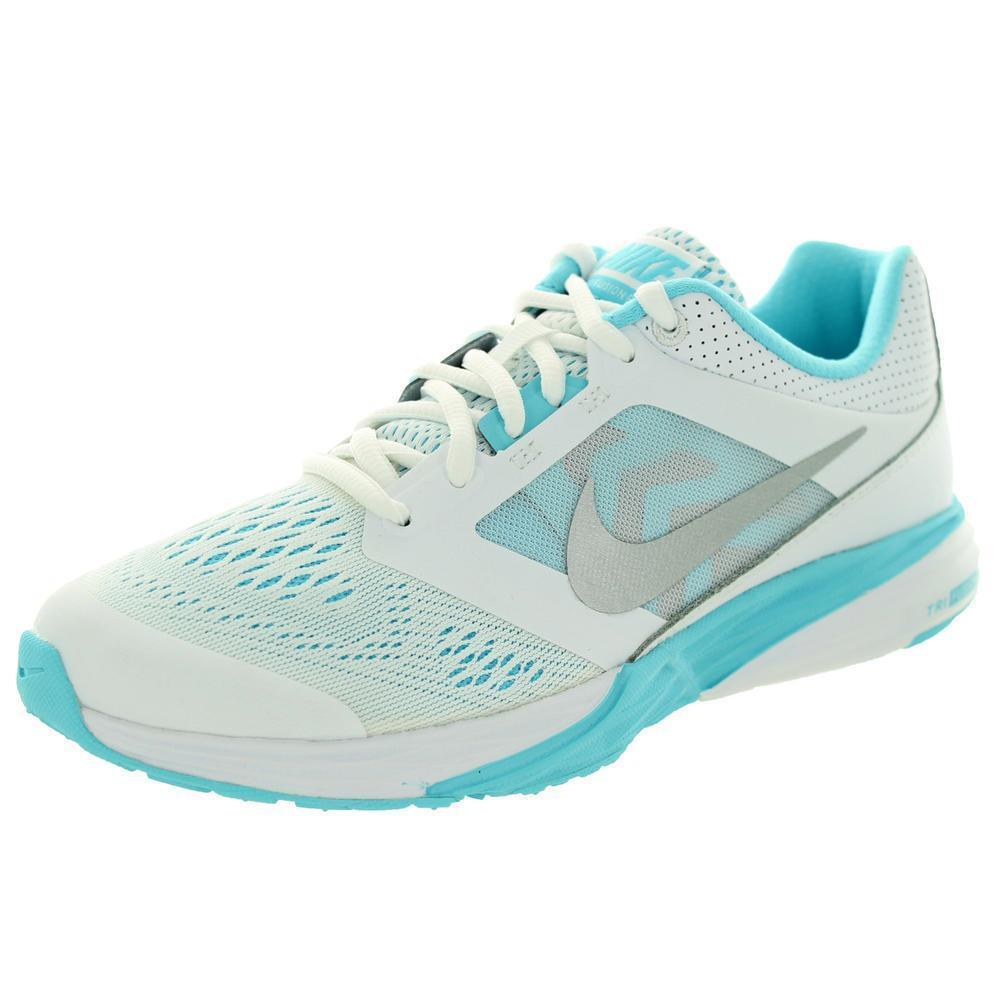 nike  's nike tri - fusion 749176-100 courir des des courir chaussures de course blanc / bleu taille 7,5 cfd4f5