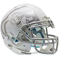 Mississippi State Bulldogs White Laser Schutt Xp Authentic Football Helmet
