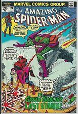 **THE AMAZING SPIDER-MAN #122**(JUL, 1973, MARVEL)**DEATH OF GREEN GOBLIN**FN/VF