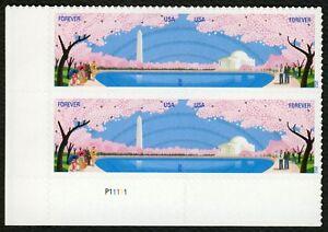 #4652a Cereza Blossom Centenario, Placa Bloque [P11111 Ll ] Cualquier 5=