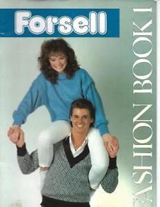 Forsell-Fashion-Book-1-1986-Machine-Knitting-Plymouth-Yarn-Co-UK-Pattern-Book