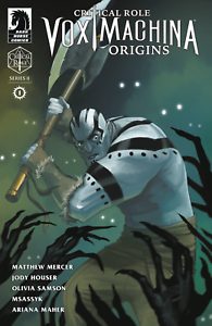 Dark Horse Comics Critical Role Vox Machina Origins 1 ...