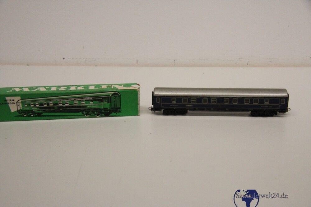 Märklin Schlafwagen 4029 Spur H0 H0 H0 83deed