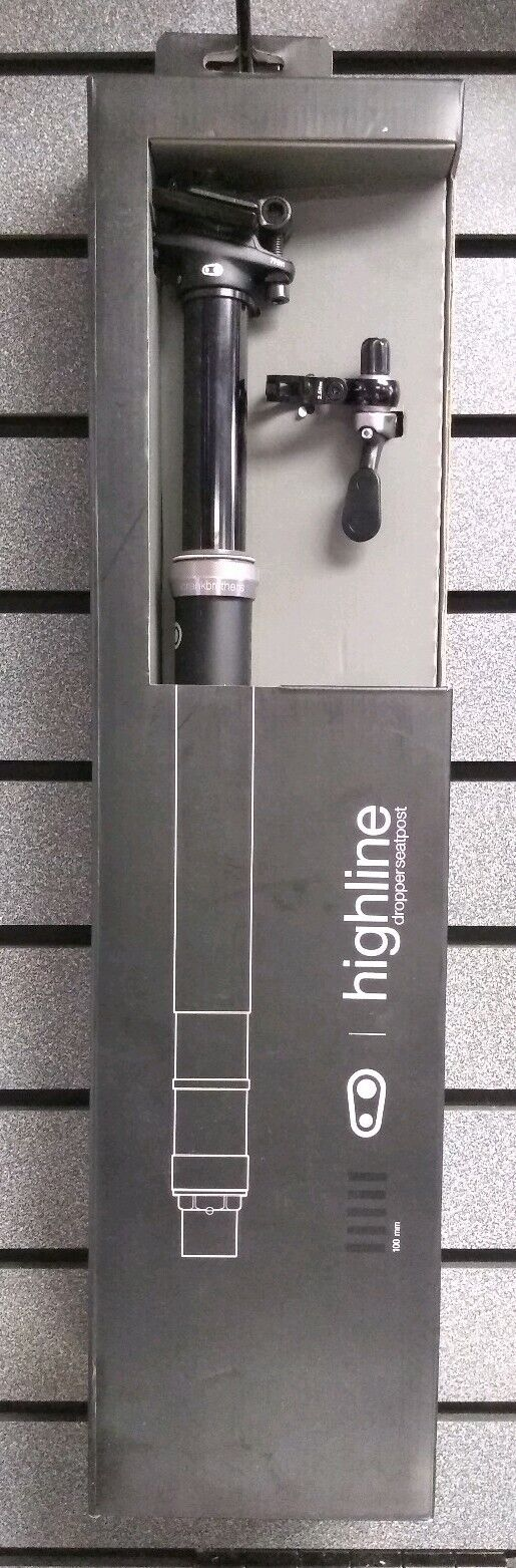 Crankbrothers   Highline   Dropper Seatpost   100mm   31.6mm   NEW   Ships Fast