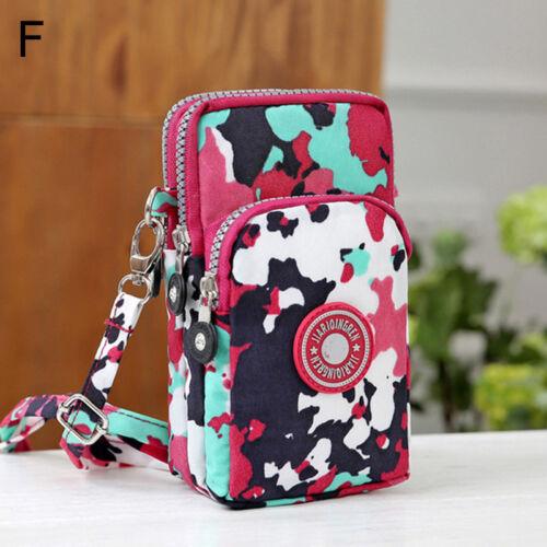 Cros-body Shoulder Bag Mobile Phone Case Belt Handbag Purse Wallet