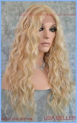 LACE FRONT LONG WAVY HEAT FRIENDLY WIG FS613.27 GORGEOUS SEXY NEW STYLE  1297