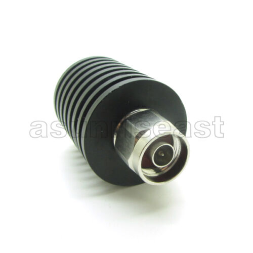 Atenuador de RF Coaxial 30W Watts 20dB tipo N macho a hembra corriente directa a 3.0GHZ 50 Ohm