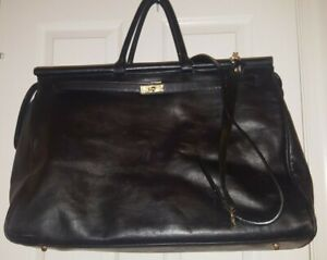 In Made Goods Leather 100Xl Duffel Black Luna Italy Vintage Borsa Nwt iZOXkPu