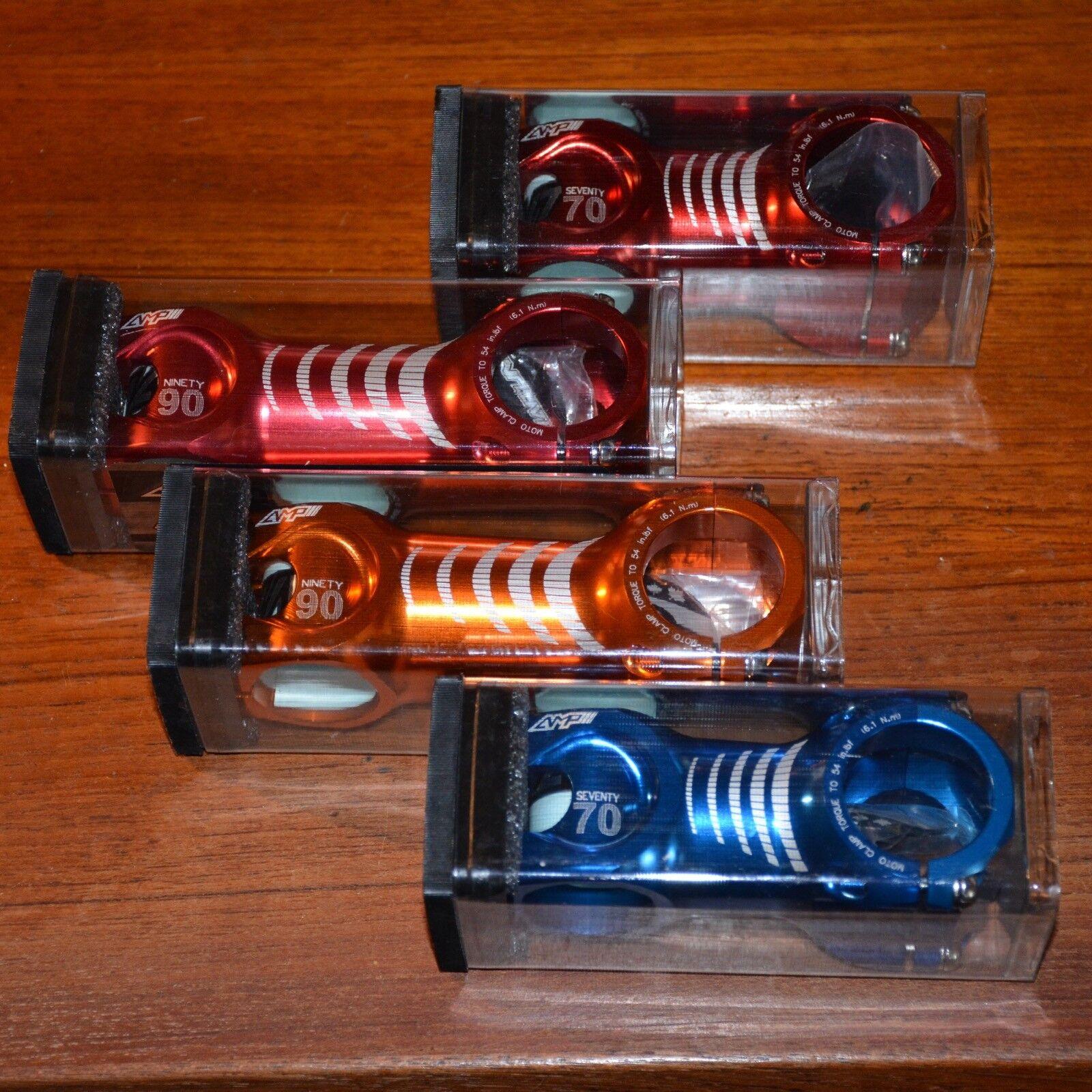 NEW Straitline AMP Stems 31.8 Red, orange,  blueee  fashionable