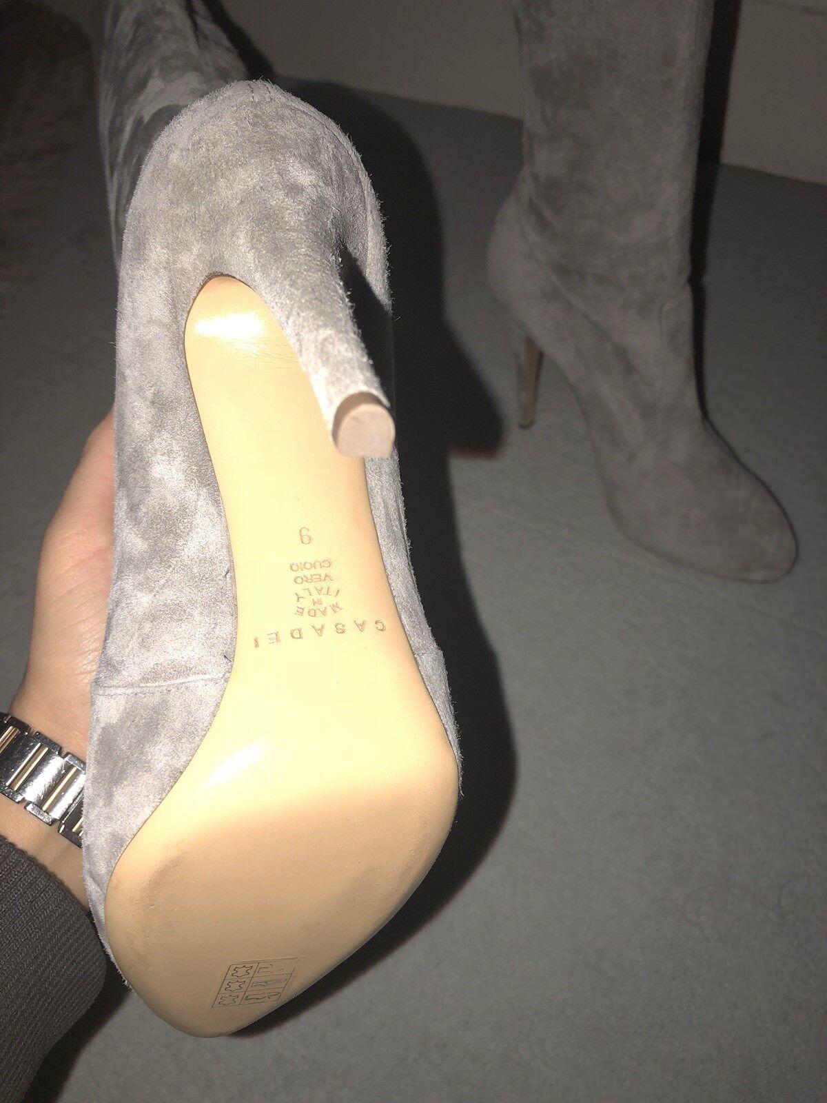 Casadei Suede Beige Stone Heeled Stiefel BRAND BRAND BRAND NEW 9c463a